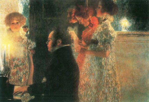 Muziek van Schubert, zondag 6 mei