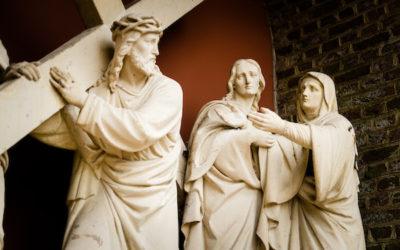 Ontmoeten: Lukas 23, 26-32